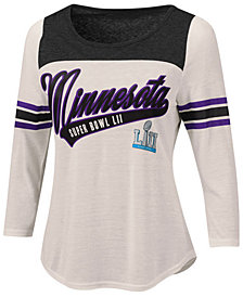 G-III Sports Women's Super Bowl LII Endzone Raglan Shirt