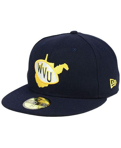 New Era West Virginia Mountaineers Vault 59FIFTY Fitted Cap