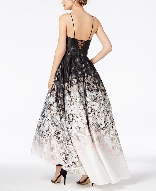 471a57cbe17 Printed Ombré Halter Gown. 6 reviews. Betsy   Adam Printed Ombr eacute  ...