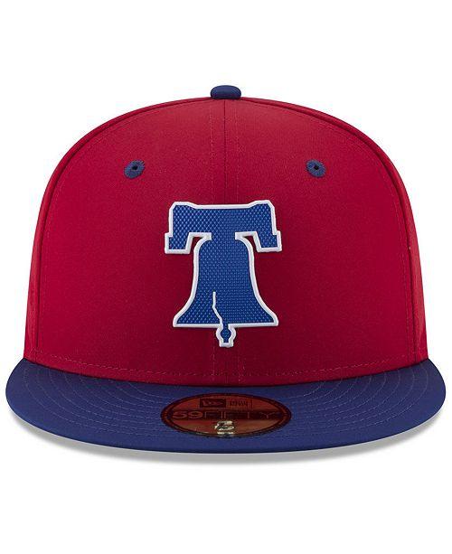 New Era Philadelphia Phillies Batting Practice Pro Lite 59FIFTY Fitted Cap  - Sports Fan Shop By Lids - Men - Macy s d89e0348641