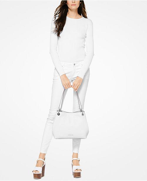 755e758f650f Michael Kors Raven Large Shoulder Bag & Reviews - Handbags ...