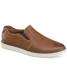 Johnston & Murphy Men's Walden Embossed Slip-On Sneakers