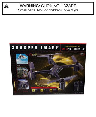 Sharper Image Rechargeable Dx 3 Video Drone All Toys Games