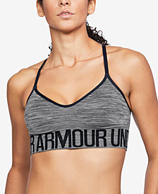 Under Armour Low-Impact Heathered Sports Bra