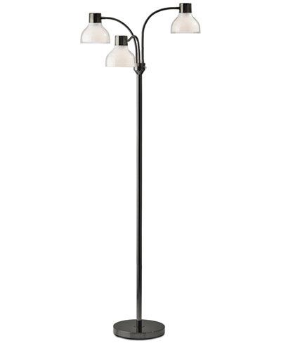 Adesso presley 3 arm floor lamp lighting lamps home macys adesso presley 3 arm floor lamp aloadofball Gallery