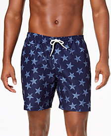 "Trunks Surf & Swim Co. Men's Sano Star Print 6.5"" Swim Trunks"