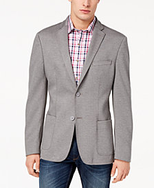 CLOSEOUT! Bar III Men's Slim-Fit Stretch Knit Sport Coat, Created for Macy's