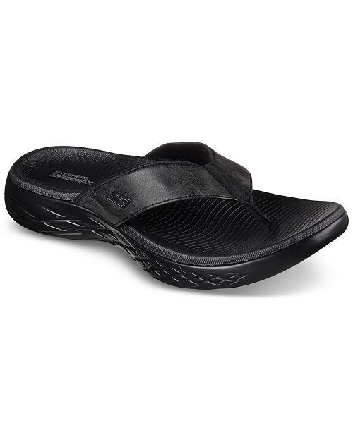 8468ef57f380 ... Skechers Men s On The Go 600 - Seaport Athletic Flip-Flop Thong Sandals  from Finish ...