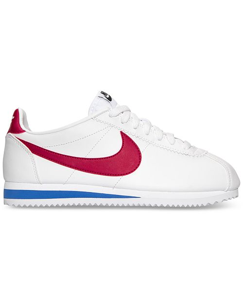 outlet store 03c39 9147e promo code for nike womens classic cortez leather casual sneakers from  finish line finish line athletic