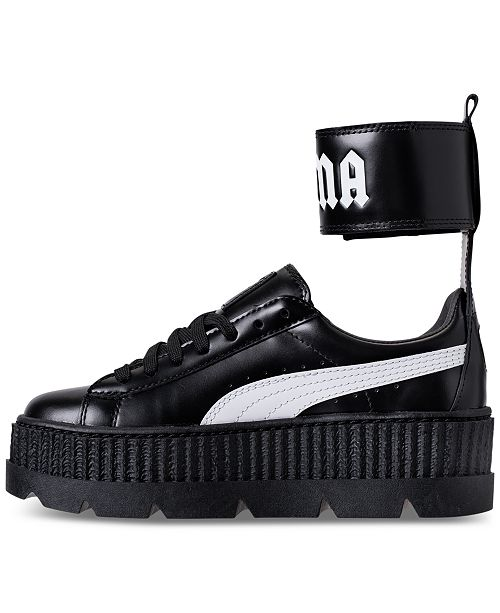c47ec356498945 ... Puma Women s Fenty x Rihanna Ankle Strap Creeper Casual Sneakers from Finish  Line ...