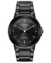 d8983a8222e2 Citizen Men s Eco-Drive Axiom Gray Stainless Steel Bracelet Watch 41mm