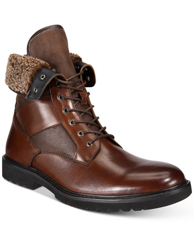 Bar Iii Men S Griffin Lace Up Boots Created For Macy