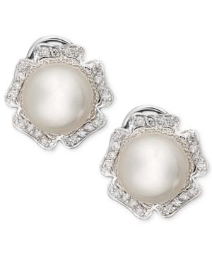 14k White Gold Earrings,...