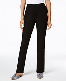 Karen Scott Petite Pull-On Jeans, Created for Macy's