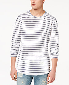 American Rag Men's Striped Long-Sleeve T-Shirt, Created for Macy's