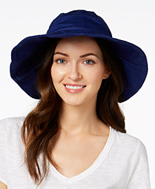 I.N.C. Solid Floppy Packable Hat, Created for Macy's