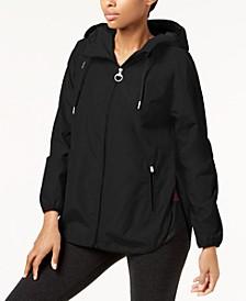 Hooded Cross-Back Jacket