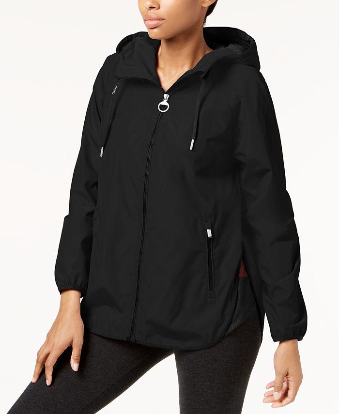 Calvin Klein - Hooded Cross-Back Jacket