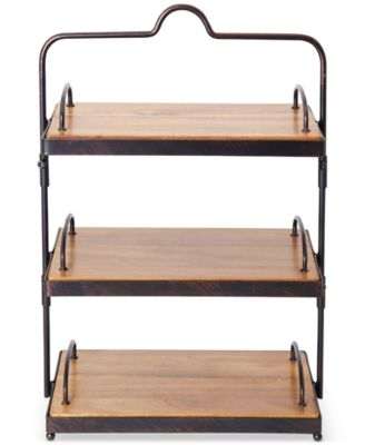 Gourmet Basics By Sierra 3-Tier Buffet Stand