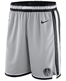 Nike Men's San Antonio Spurs Statement Swingman Shorts