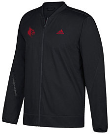 adidas Men's Louisville Cardinals Basketball Warm Up Jacket