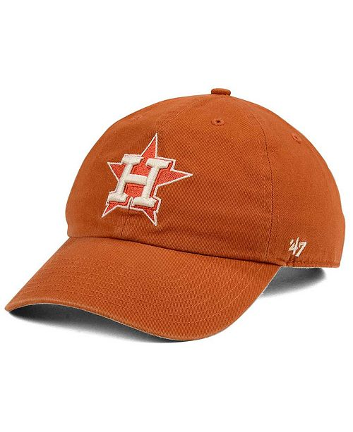 1a329b422c39e  47 Brand. Houston Astros Rust CLEAN UP Cap. Be the first to Write a Review.  main image  main image ...