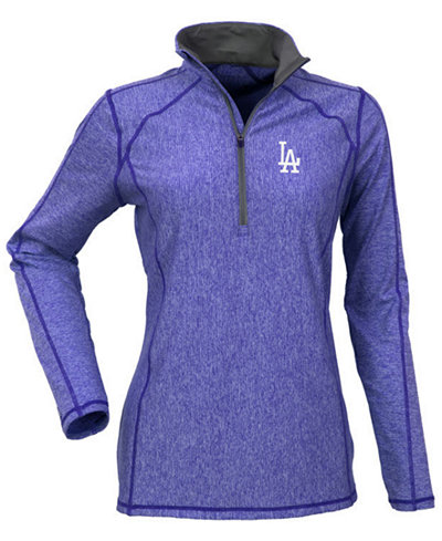 Antigua Women's Los Angeles Dodgers Tempo Pullover