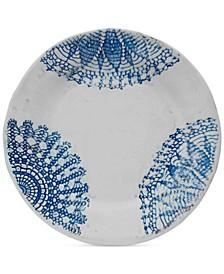 Daniela Blue Round Platter