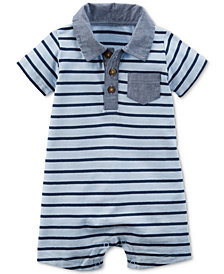 Carter's Striped Cotton Romper, Baby Boys