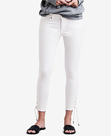 Levi's® 711 Lace-Up Skinny Jeans