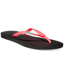 Havaianas Slim Logo Pop-Up Flip-Flop Sandals