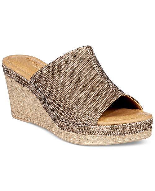 Tuscany Women's By Easy Street Octavia Espadrille Wedge Vt47Ud