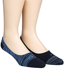 Tommy Hilfiger Men's 2-Pk. No-Show Socks