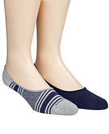 Cole Haan Men's 2-Pk. No-Show Socks