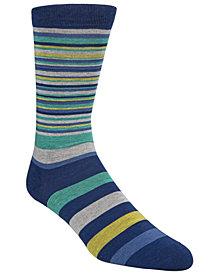 Cole Haan Men's Town Stripe Crew Socks