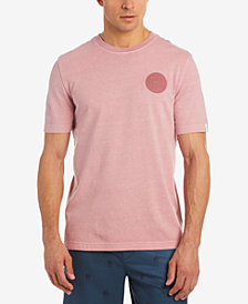 Lacoste Men's LIVE Garment Dyed Badge T-Shirt