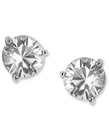 Swarovski Earrings Solitaire Crystal Stud