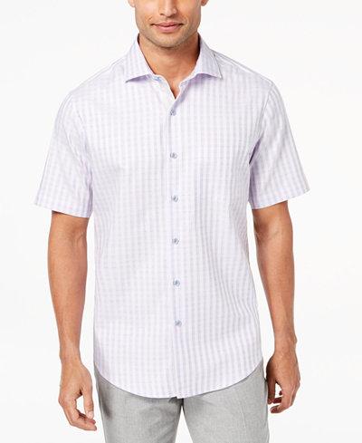 Tasso Elba Men's Check Shirt, Created for Macy's