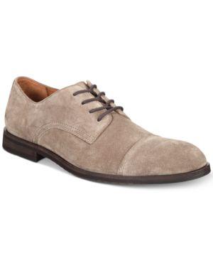 Frye Men's Scott Cap-Toe Suede Oxfords, Created for Macy's Men's Shoes