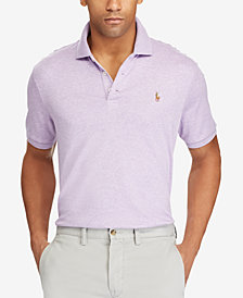 Polo Ralph Lauren Men's Big & Tall Classic-Fit Soft-Touch Polo
