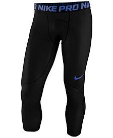Nike Men's Pro Cropped Compression Leggings