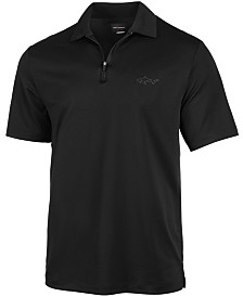 Attack Life by Greg Norman Men's 5 Iron Zip Golf Polo, Created for Macy's