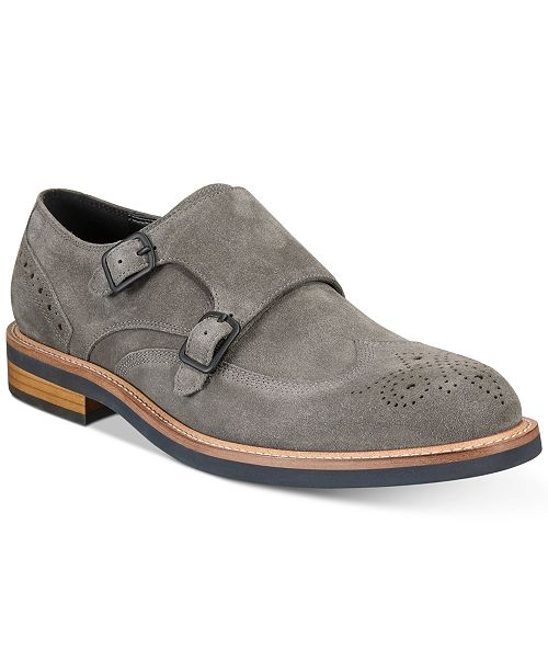 Outlet Low Cost Free Shipping Supply Kenneth Cole Reaction Klay Suede Double Monk Clearance Looking For Outlet Explore EHR7y