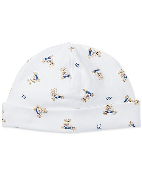 Polo Ralph Lauren Ralph Lauren Baby Boys Printed Cotton Hat