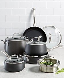 Hard Anodized 11-Pc. Cookware Set, Created for Macy's