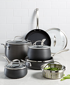 Belgique Hard Anodized 11-Pc. Cookware Set, Created for Macy's