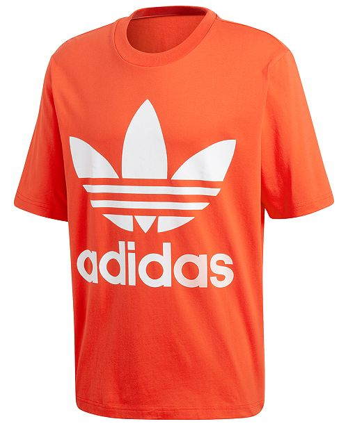 2e345999b6 adidas Men's adicolor Big Logo T-Shirt & Reviews - T-Shirts - Men ...