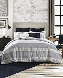 Tommy Hilfiger Laurel Cotton Reversible Dobby 2-Pc. Twin Duvet Set