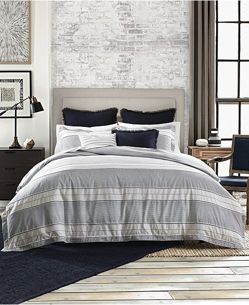 Tommy Hilfiger Laurel Dobby Bedding Collection