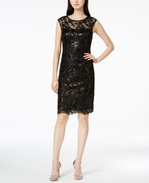 Adrianna Papell Lace Sheath Dress 6712649